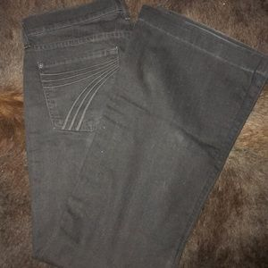 7 for all mankind black dojo jeans